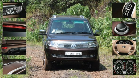 Tata Safari Storme photo gallery: Features and gadgets