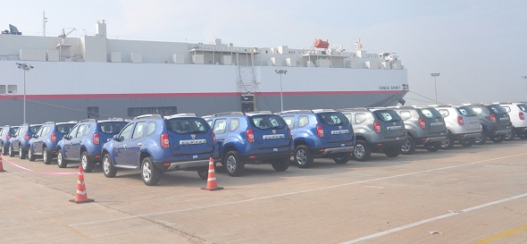 Renault exports Duster under Dacia brand from Chennai plant