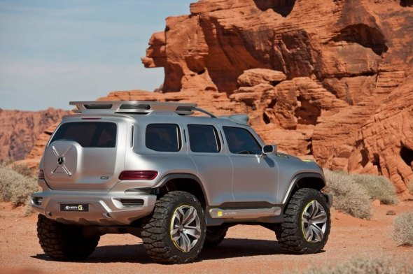 mercedes Ener-G-Force SUV rear photo