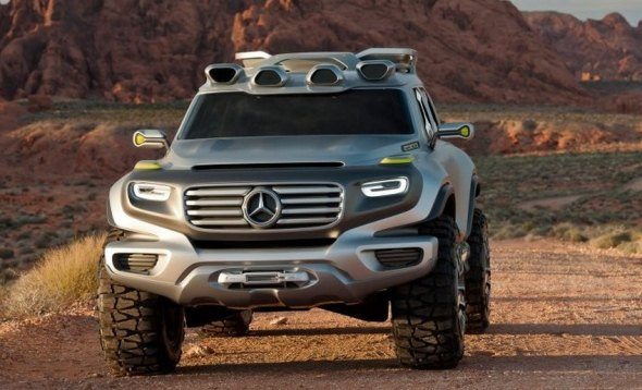 mercedes Ener-G-Force SUV