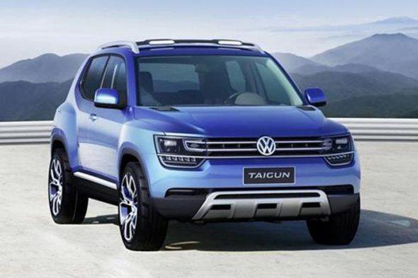 Volkswagen Taigun Concept SUV revealed!