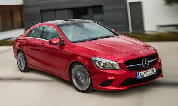 2014 Mercedes Benz CLA Sedan Image