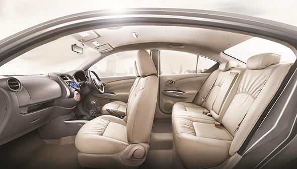 Nissan-sunny-beige-interiors-photo