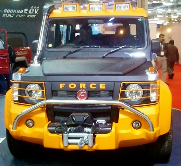 Force Gurkha 4x4x4 Launched, Priced Between Rs. 6.25 Lakh