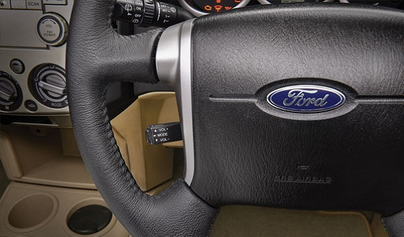 ford-endeavour-steering-audio-control