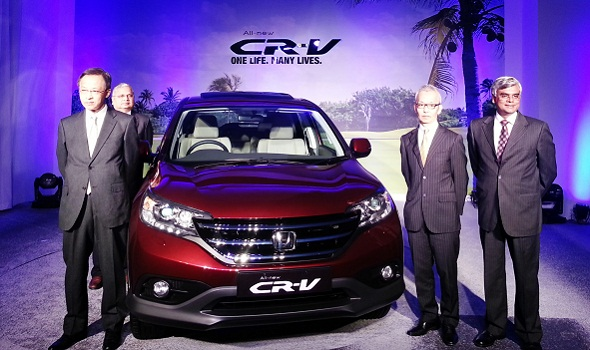 Honda launches all-new 2013 CR-V at Rs 19.95 lakh