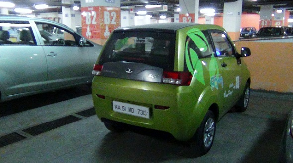 Living with a Mahindra e2o: Day-3, The Urban Runabout