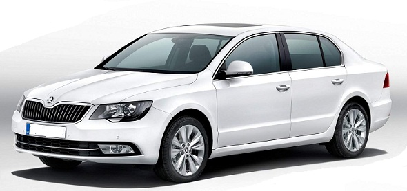 2014 Skoda Superb Facelift Image