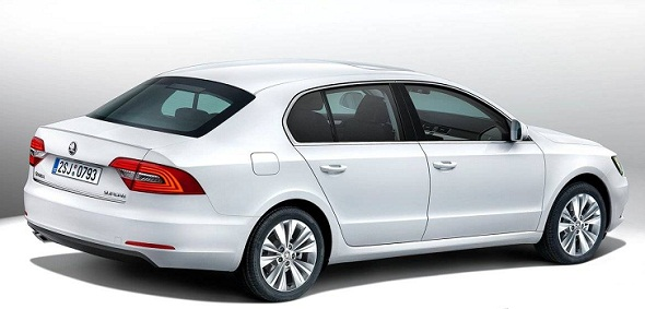 2014 Skoda Superb Facelift Pic