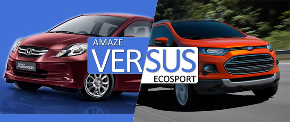 Ford EcoSport vs Honda Amaze: Which one suits your needs?