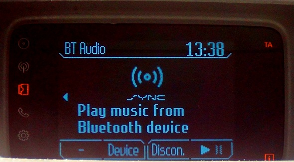 Ford SYNC Infotainment System Picture