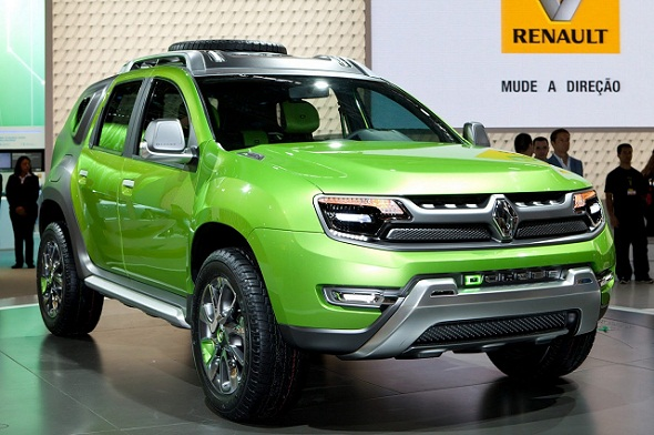 renault duster likely to get a facelift based on d cross concept. Black Bedroom Furniture Sets. Home Design Ideas