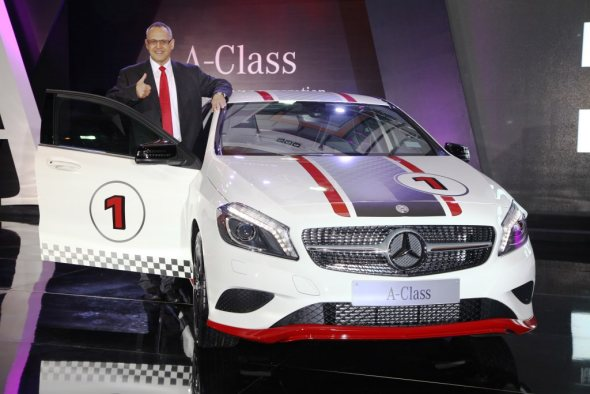Mercedes Benz A-Class launched at Rs. 22 lakh!