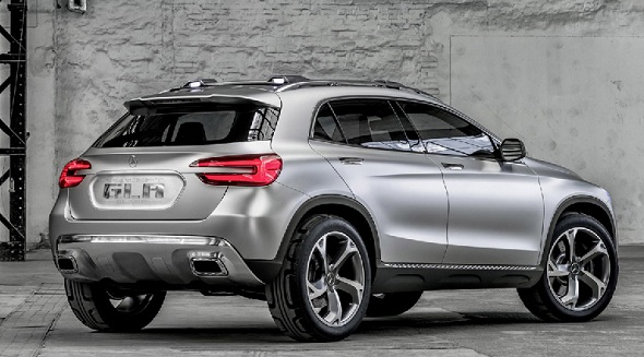 Mercedes Ben GLA Crossover Concept Pic