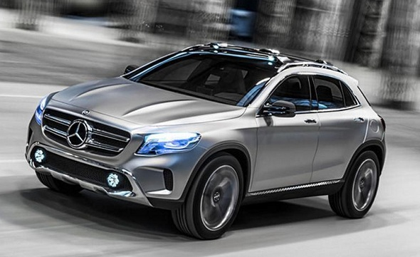 Mercedes Benz may launch entry-level SUV based on GLA concept