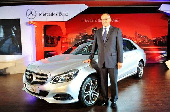 Mercedes Benz launches new E-Class at Rs. 41.50 lakh