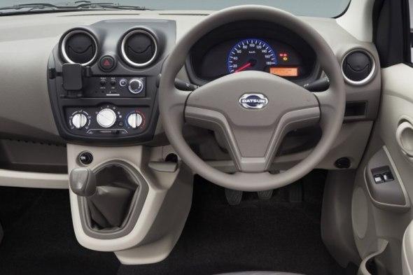 Datsun Go Dashboard Image