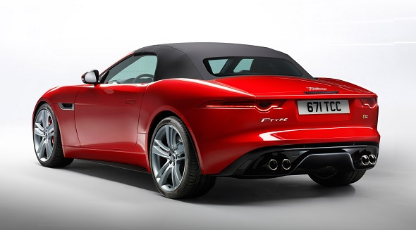 The Regular F Type V6S Comes With A 3 Litre V6 Supercharged Petrol Engine  That Puts Out 380PS (377 Bhp) Of Power Driving The Rear Wheels Through An  ...