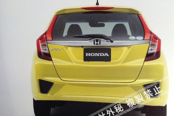 The New 2014 Honda Jazz As Seen In The Leaked Brochures Comparing The  Present Jazz (that Was Just Discontinued In India) With The New Jazz Show  That The New ...
