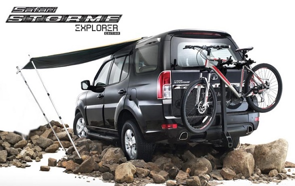 Tata Safari Storme Explorer Edition launched with Outdoor add-ons