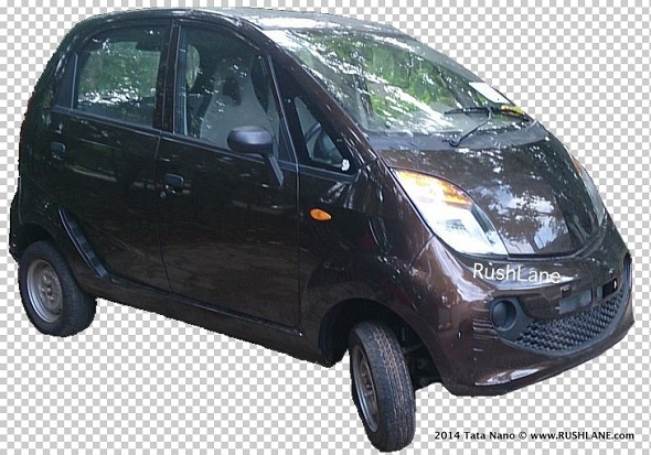 Tata Nano diesel spotted without camouflage, reveals body changes