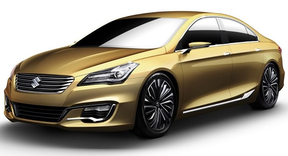 Suzuki AuthenticS concept, a precursor of the YL1 sedan picture