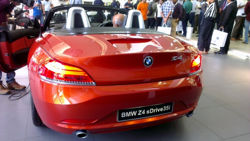 Refreshed Bmw Z4 Launched At Rs 68 9 Lakh