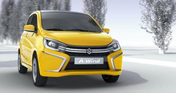Suzuki A-Wind Hatchback Concept Image