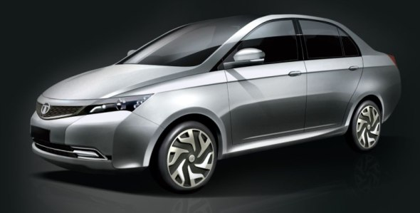 Compact sedan based on Falcon project image