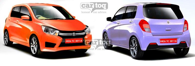 CarToq renders the production version of the 2014 Suzuki Alto / YL7 / Estilo