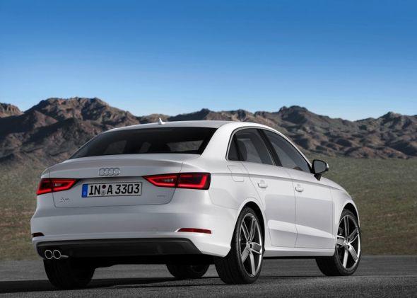 2014 Audi A3 Sedan Rear Picture
