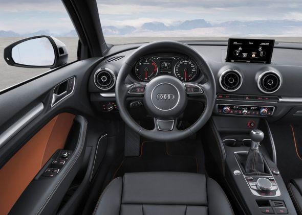 2014 Audi A3 Sedan Dashboard Pic