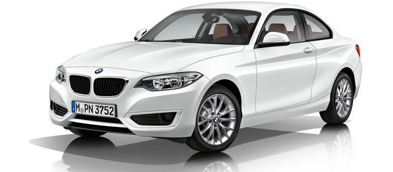 F22 BMW 2-Series Coupe unveiled at the 2014 Detroit Motor Show