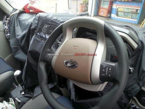 2014 Mahindra Scorpio Facelift Interiors Pic