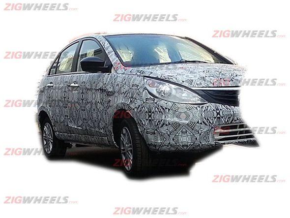 Tata Falcon 5/Manza CS Compact Sedan Spyshot Image