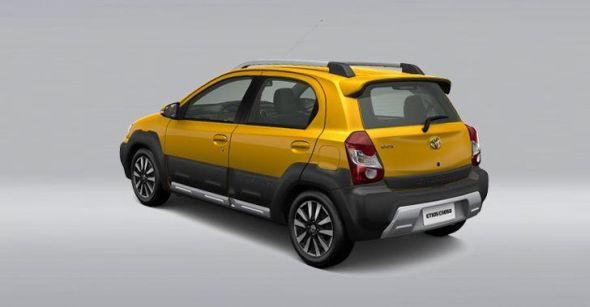 Toyota Etios Cross Rear Picture
