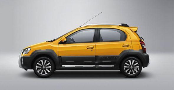 Toyota Etios Cross Profile Pic