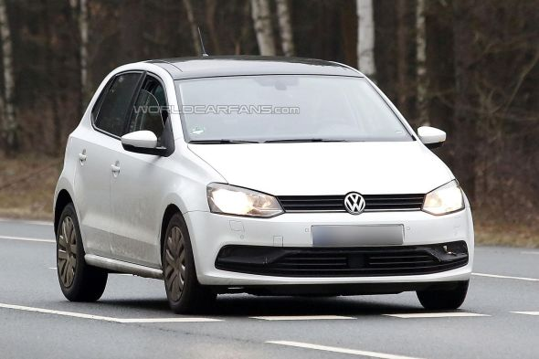 2014 Volkswagen Polo Facelift Pic