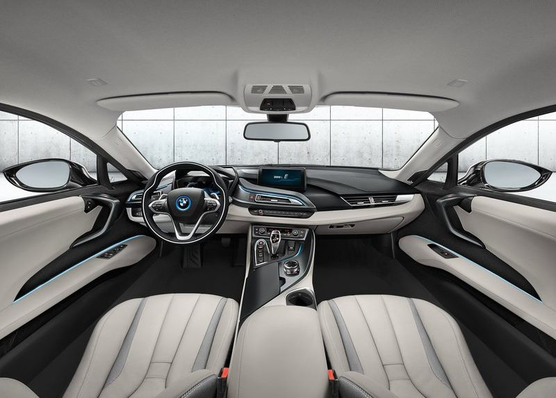 Bmw I8 Hybrid Sportscar Launched In India