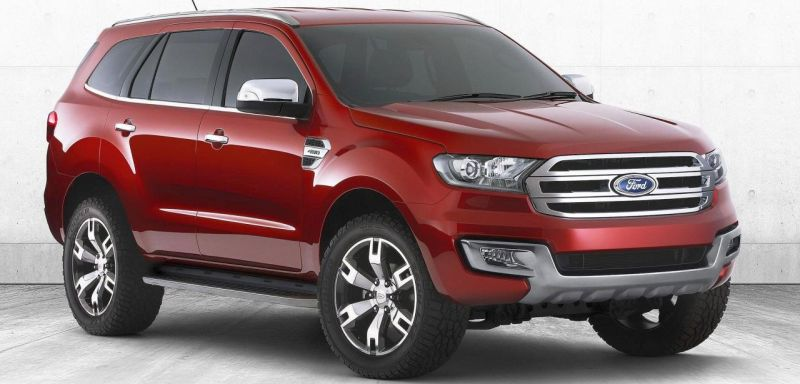 2015 Ford Endeavour SUV – New details surface