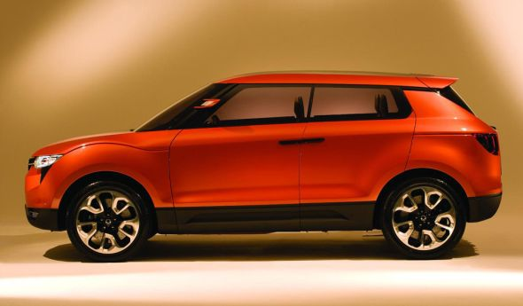 Ssangyong X100 Compact Crossover Concept Profile Pic