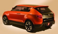 2015 Ssangyong X100 Compact Crossover Concept 4