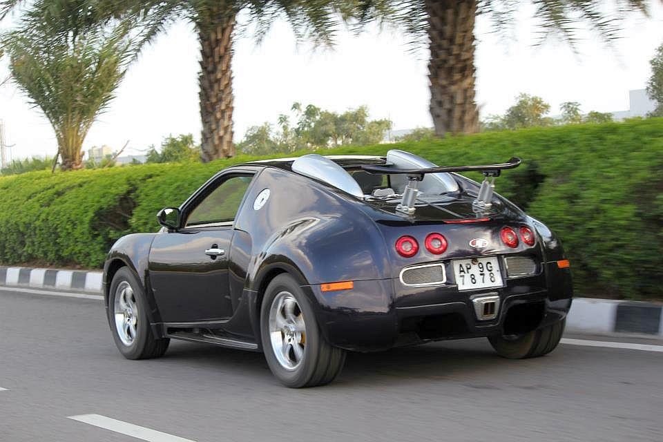 replica car of the day maruti esteem to bugatti veyron. Black Bedroom Furniture Sets. Home Design Ideas