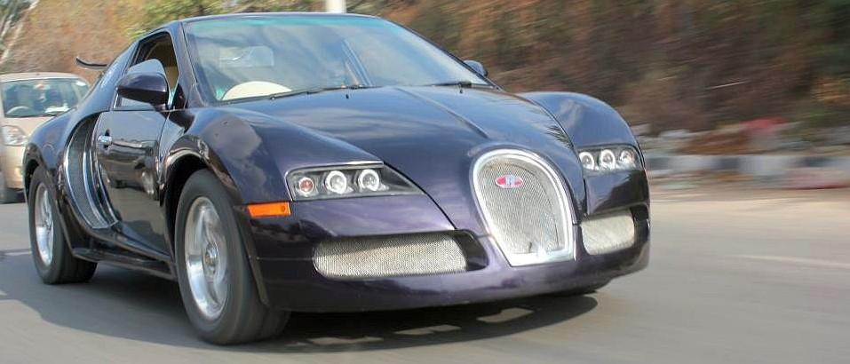 Replica Car of the day: Maruti Esteem to Bugatti Veyron