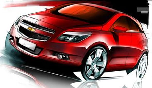 Chevrolet Compact SUV Concept Illustration Pic