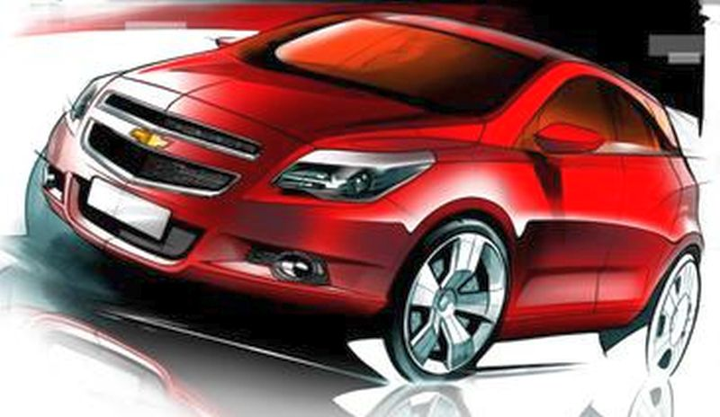 General Motors to show Chevrolet Compact SUV concept at the 2014 Indian Auto Expo