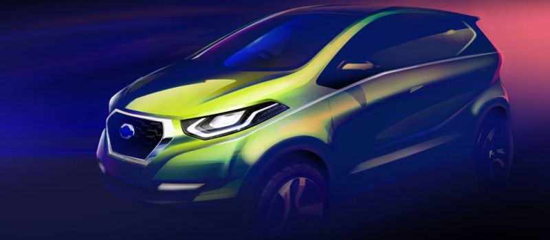 Datsun releases sketch of the i2 hatchback that will take on the Maruti Alto 800