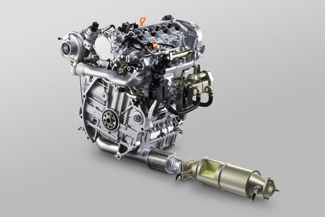 Honda 1.6 liter i-DTEC Turbo Diesel Engine