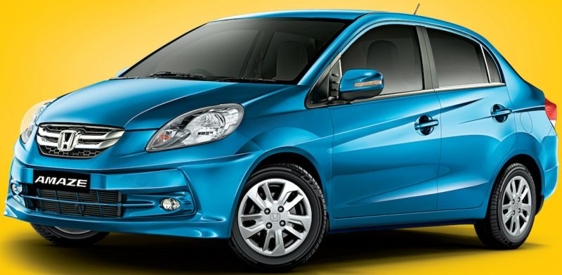 Honda Amaze SX petrol and diesel variants launched in India