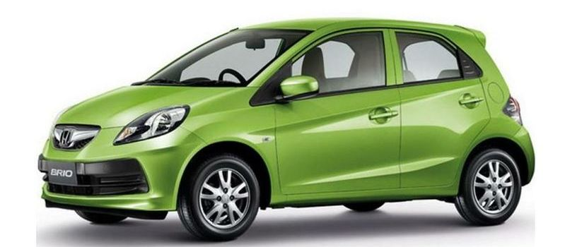Current-Generation Honda Brio Hatchback Photo